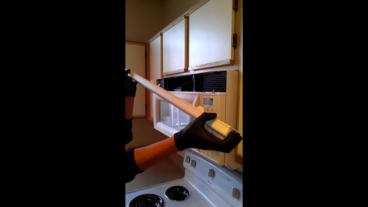 hight resolution of replacing microwave fuse pt1 of 3