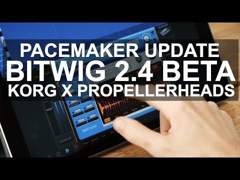 DJ News - Pacemaker Update, Bigwig 2.4 Beta, Korg and Propellerheads Collab. http://bit.ly/2UhZOhb