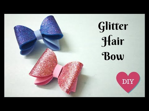 How to make Decorative Foam Bow | Hair Bow | DIY Crafts