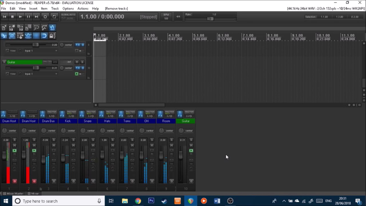 How to listen to YouTube and your DAW at the same time with low latency   (WASAPI) - Tutorial