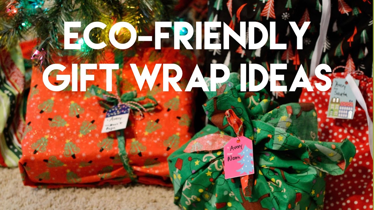 Ecologically friendly christmas gifts