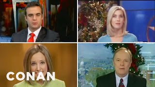 Newscasters Agree: A Christmas Present Or Two Or Ten Edition