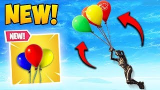NEW BALLOON ITEM BEST PLAYS! - Fortnite Funny Fails and WTF Moments! #370