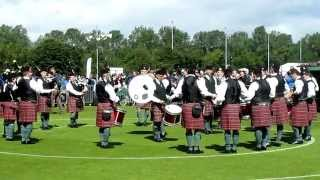 Europeans 2012: Police Service of Northern Ireland Pipes & Drums