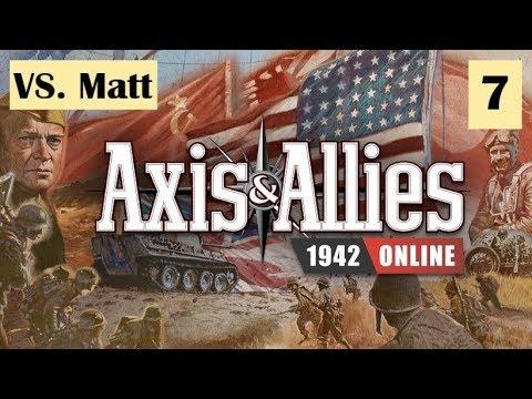 Axis & Allies 1942 Online: Final Game vs Matt #7 |