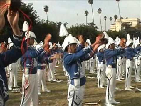 Kamehameha Schools Marching Band at Disneyland Part II