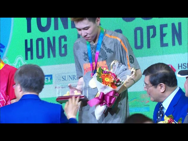 F | MS | LEE Cheuk Yiu (HKG) vs. Anthony Sinisuka GINTING (INA) [8] | BWF 2019