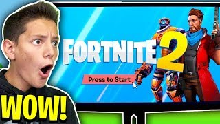 Provo FORTNITE 2 per la *PRIMA* VOLTA!! 😱 *INCREDIBILE*