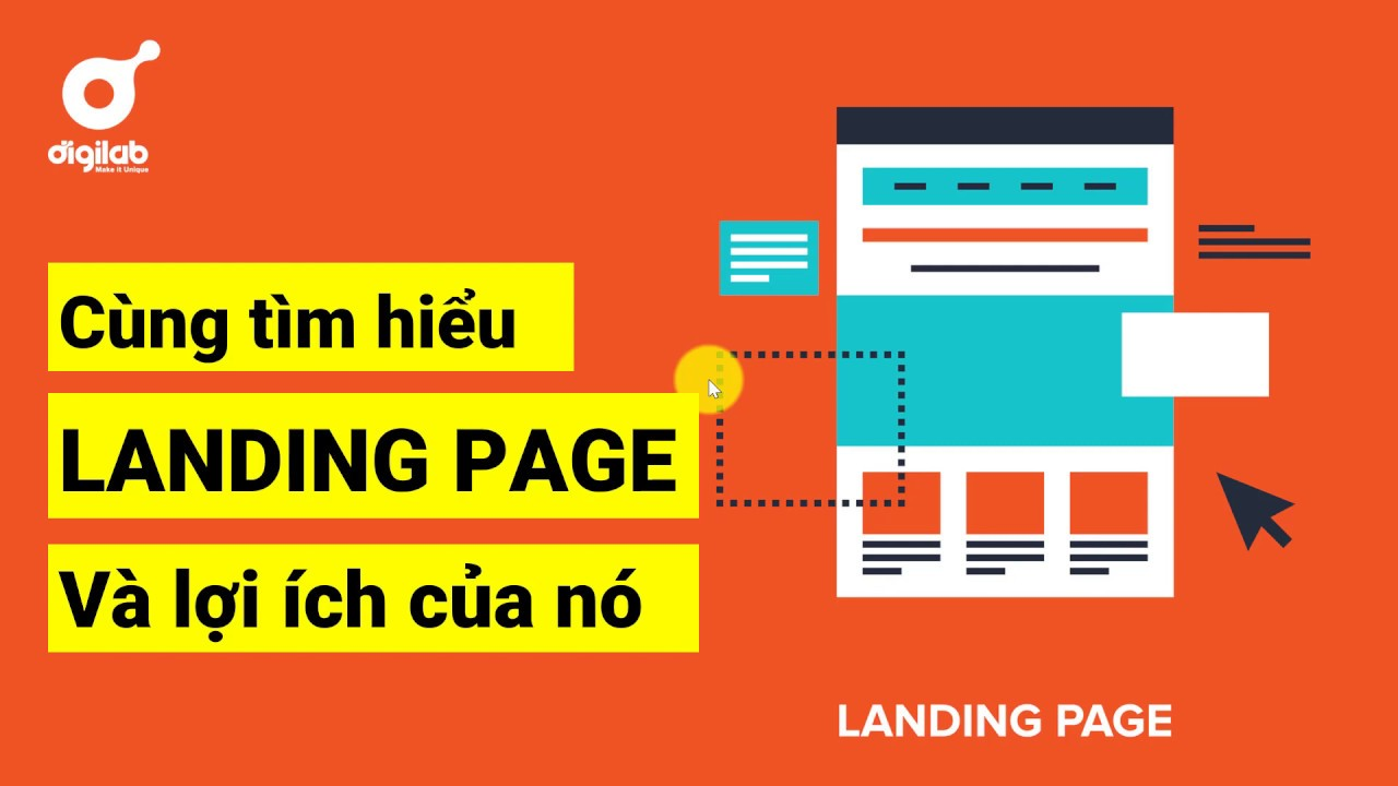 Landing page là gì và sự bá đạo của nó