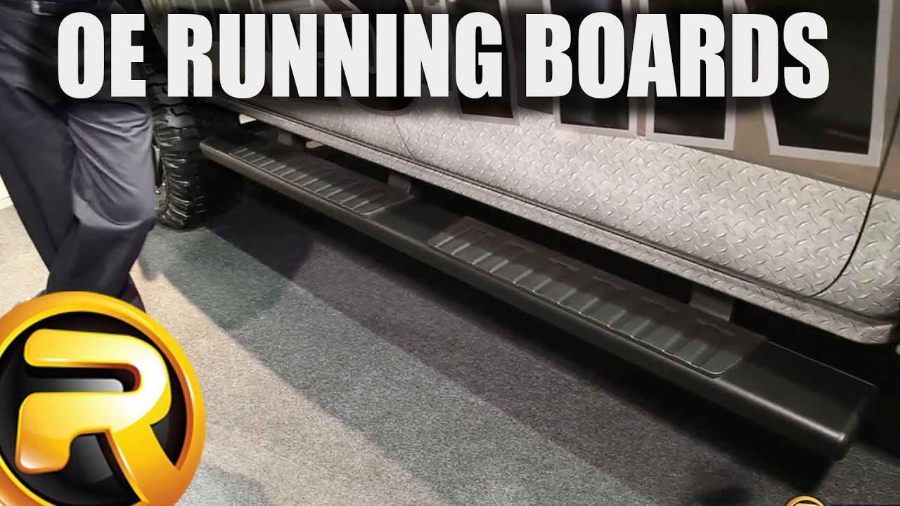 Westin R7 Running Boards At Sema 2015 Youtube