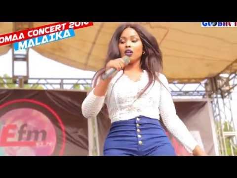 Malaika Alivyowapagawisha Mashabiki Wake Kwenye Tamasha la Komaa Concert 2016