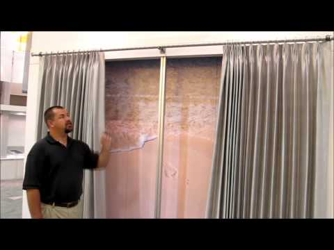 QMotion Battery Powered Motorized Drapery Track by 3 Blind Mice Window Coverings San Diego