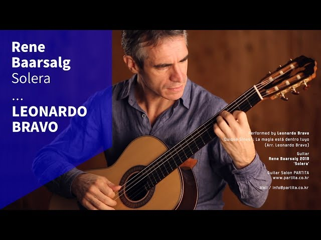 Leonardo Bravo - La Magia esta dentro tuyo