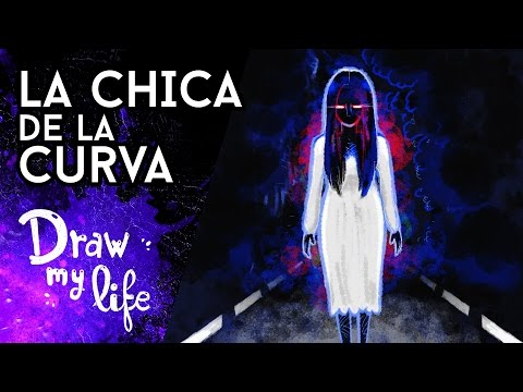 La LEYENDA De LA CHICA DE LA CURVA | Creepypasta | Draw My Life