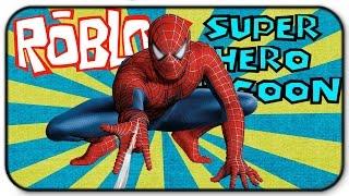 Roblox Super Hero Tycoon - Am I Glitching The Game - Spiderman Gameplay