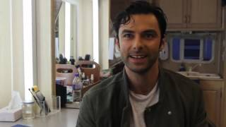 Эйдан Тёрнер рассказывает о 2 сезоне сериала Полдарк {RadioTimes Festival} (RUS sub)