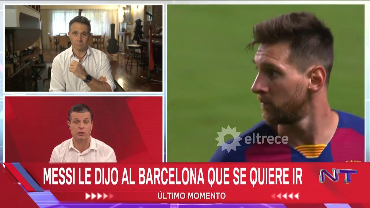 Lionel Messi se va del Barcelona ¿A qué club se iría?