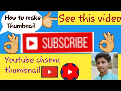 How To Add A Thumbnail To YouTube Videos 2019 On Mobile Phone Using YouTube Studio App