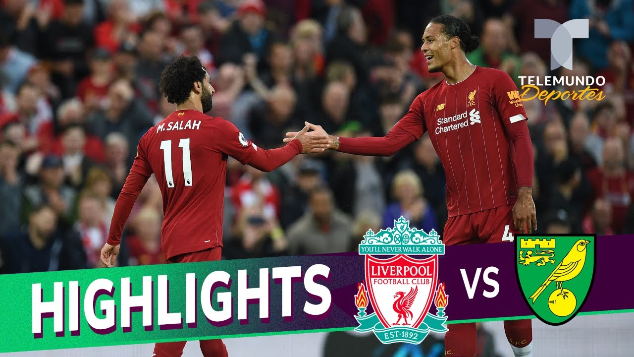 Liverpool vs. Norwich City: 4-1 Goals & Highlights | Premier League | Telemundo Deportes
