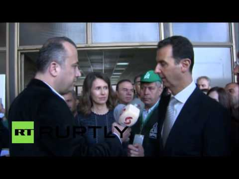 Syria: Assad touts 'unprecedented' turnout for parliamentary elections