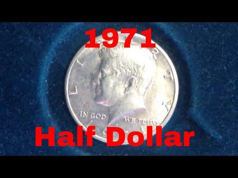 1971 Kennedy Half Dollar (Mintage 155 Million- No Silver )