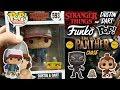 Stranger Things Dustin & Dart, Black Panther Chase (Funko Pop Hunt)