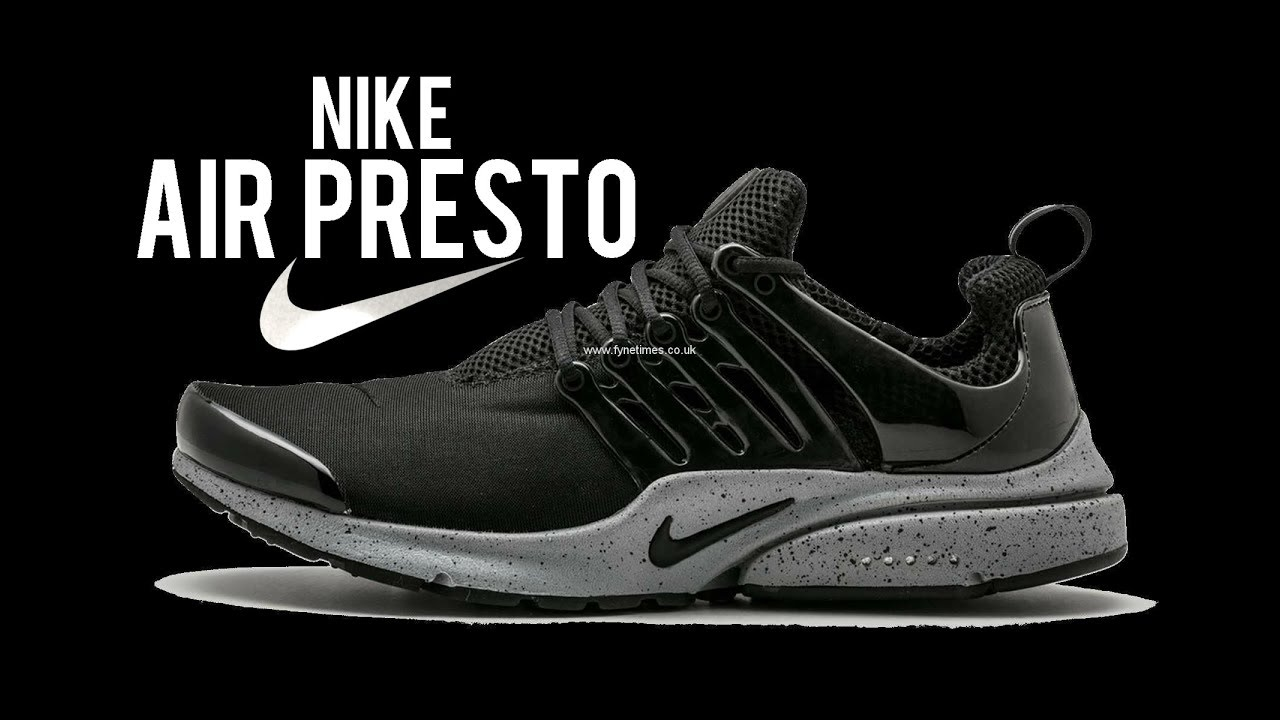 c66895aef8c0 NIKE Mens Air Presto SP Genealogy Pack Fabric Running Black Black ...