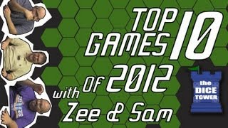 Top 10 Games of 2012 - Sam and Zee