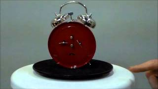 Sternreiter Ruby Red Loud Twin Bell Wind Up Alarm Clock