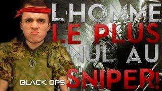 L'homme le plus nul du monde au sniper - Première vidéo sur le multi de Black Ops 2 !