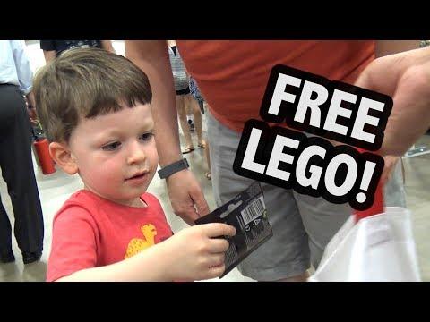 Giving Away FREE LEGO At BrickFair Virginia 2018!