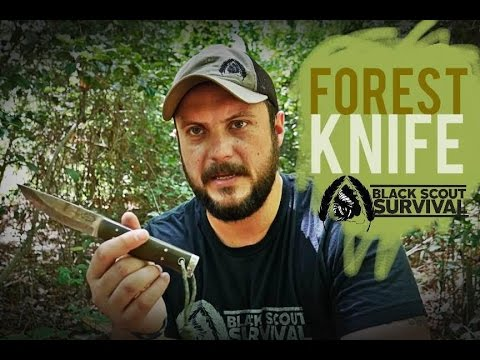 American Knife Company- Forest Knife
