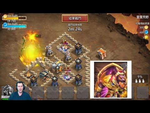 New Hero GamePlay Desert Offering BEAST in Dungeons WOW Castle Clash