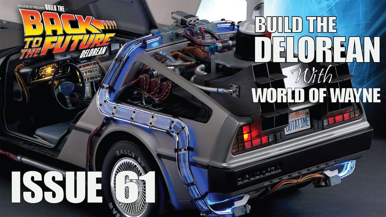 Build the Delorean - Issue 61 - The Bonnet Frame - YouTube