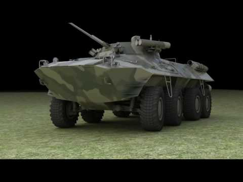 BTR 90 Animation Test