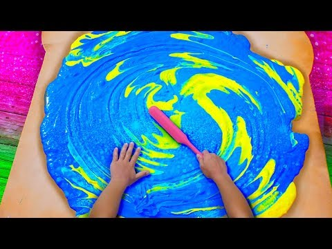 Butter Slime with Wood Glue GIANT SIZE How To! $100 DIY Slime Challenge Recipe and Giveaway!