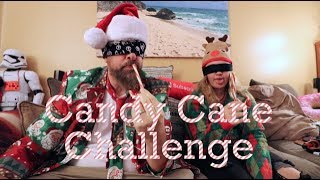 Blindfolded Christmas Candy Cane Taste Test Challenge!!