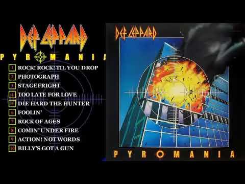 Download Def Leppa̲r̲d̲ -  Pyromani̲a̲ Full Album 1983