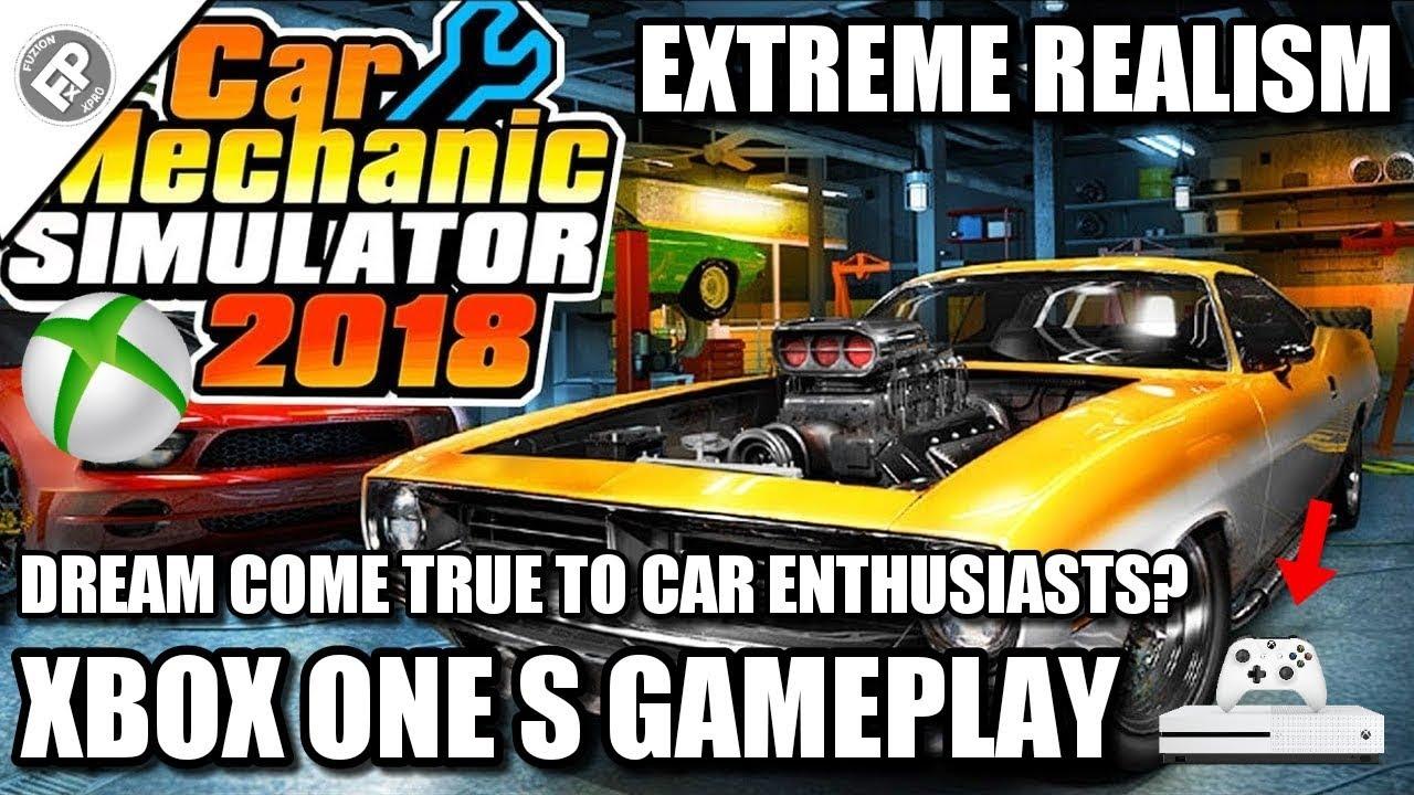 Car Mechanic Simulator Fixing A Car Xbox One S Gameplay