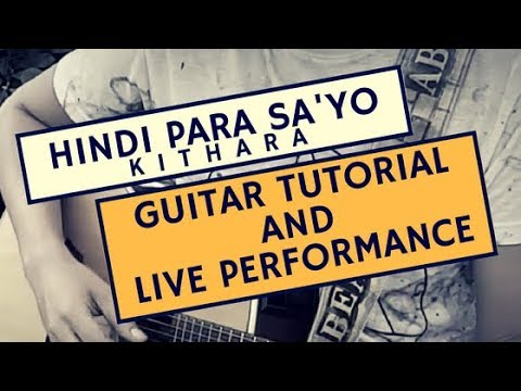 Kithara - Hindi Para Sa'yo (Guitar Tutorial)