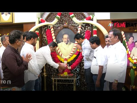 Actor Sivaji Ganesan 16th Memorial Day-Oneindia Tamil