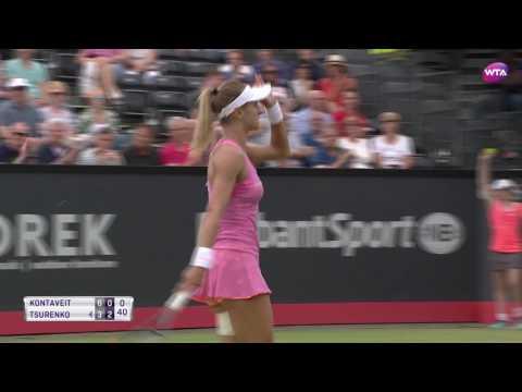 2017 Ricoh Open Semifinals | Anett Kontaveit vs Lesia Tsurenko | WTA Highlights