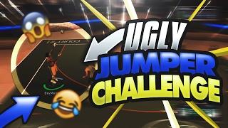 UGLY CUSTOM JUMPSHOT CHALLENGE PT.2! • THIS JUMPER IS STR8 CASH! • GREENS RAINING | DEMIGOD NBA 2K17