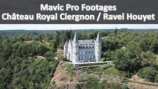 Mavic Pro - Flight around Ciergnon King's Castle / Ravel Houyet