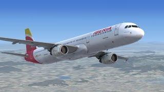 [FSX 1080p] Vuelo Comentado 2 - Airbus X Extended  Valencia-Mallorca + Autoland