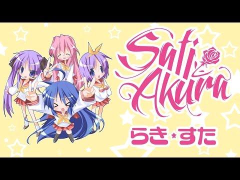 Lucky☆Star OP RUS Motteke! Sailor Fuku   Sati Akura