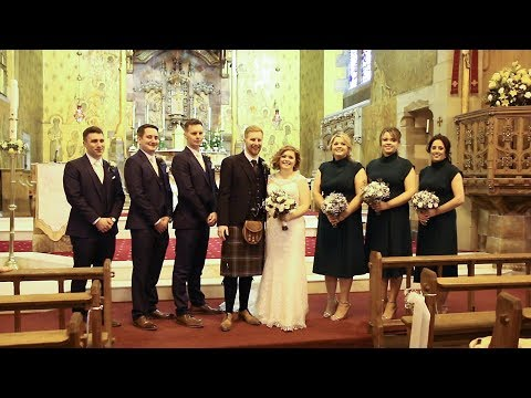 Kate and Kevin's Wedding Video at Our Lady Of Loretto, Musselburgh
