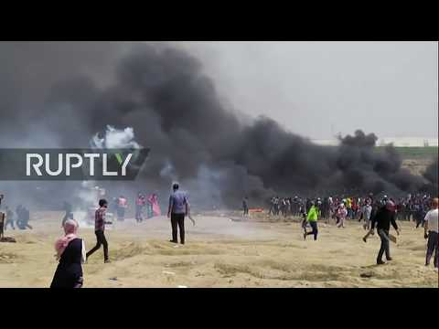Live: Palestinians resume 'Great March of Return' demonstrations