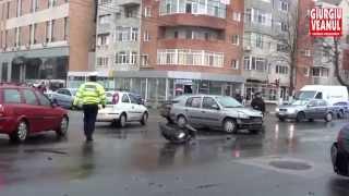 Accident rutier in Giurgiu
