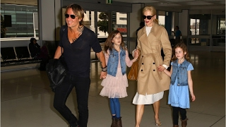 keith urban receives surprise from daughters before attending 2017 acm awards
